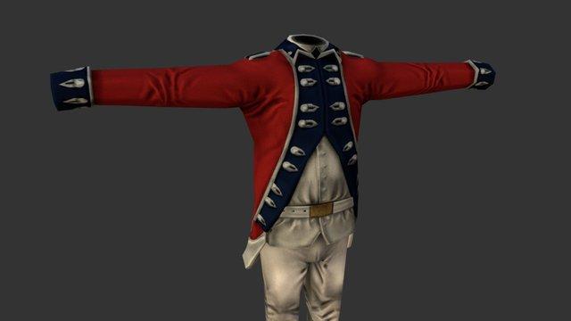 Uniform_2_British 3D Model