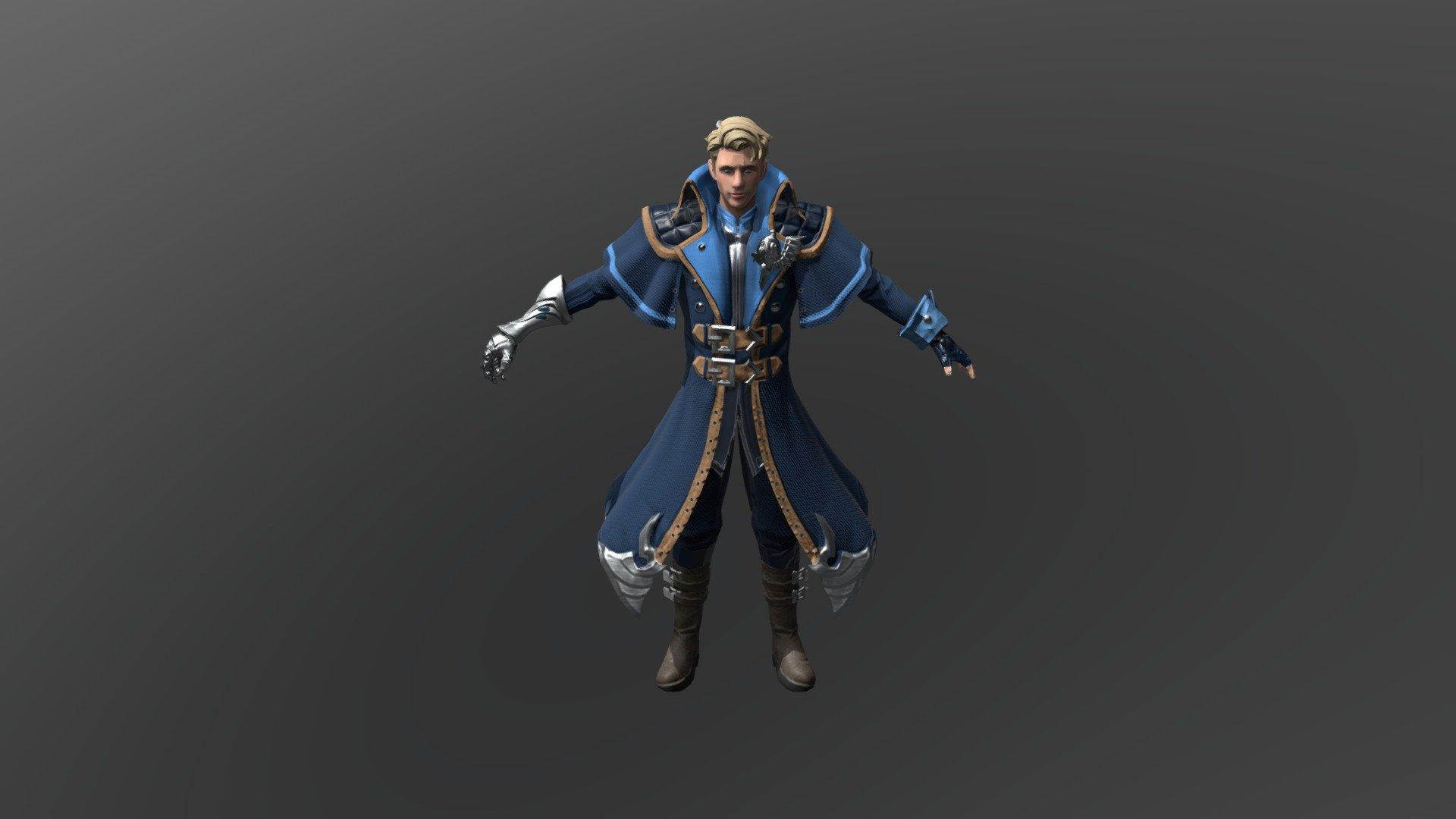 Alucard Mobile Legends 3D Model By Najolragnat