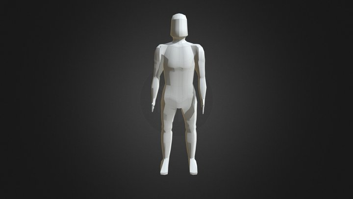 Character Animation for 'Mucus Man' game 3D Model