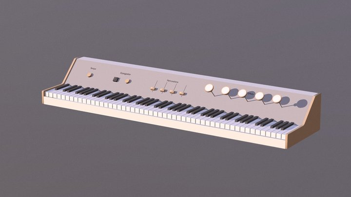 Pianographe PDE 3D Model