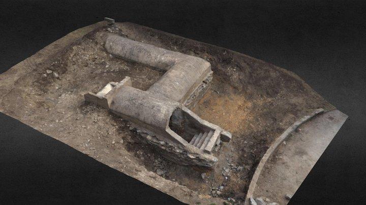 World War 2 - Bunker Landeck 3D Model