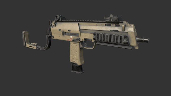HK MP7 A1 3D Model