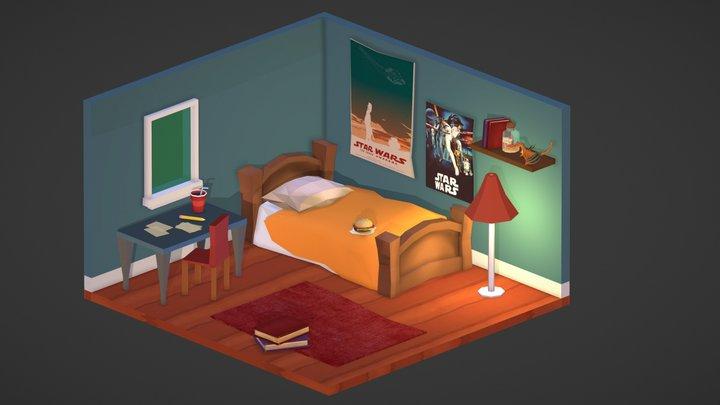 Star Wars Room 3D Model