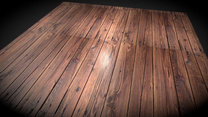 mat test wood 3D Model