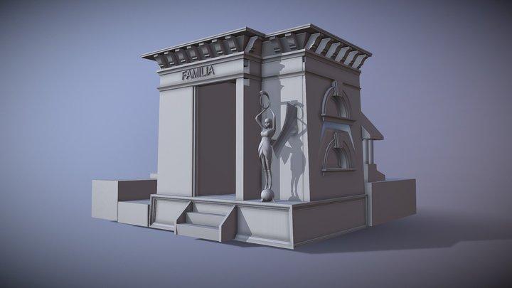 MAUSOLEO 3D Model