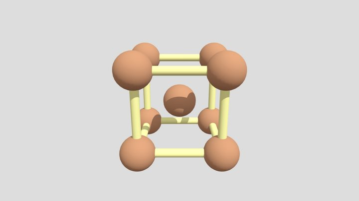 Fe 3D Model