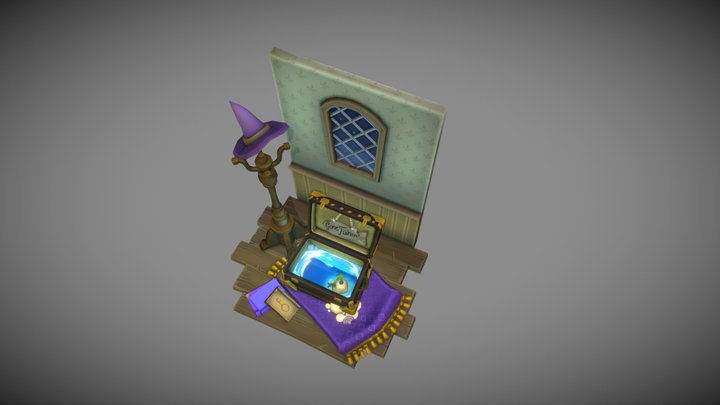 A Case of the Vacation Blues 3D Model