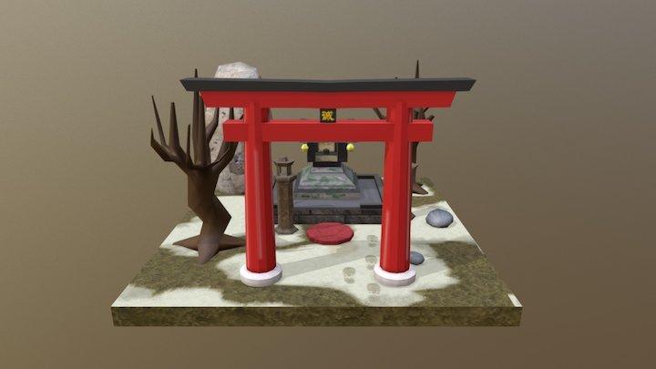 Shrine 3D Model