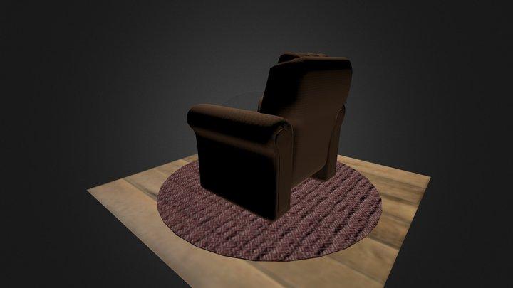 Poltrana do papai 001 3D Model