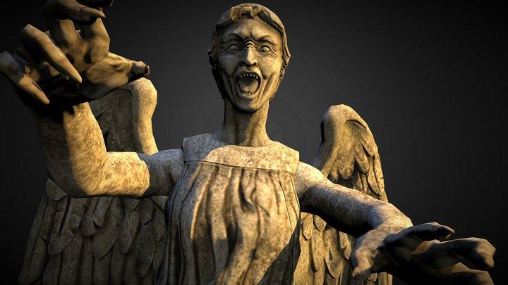Weeping Angel 3D Model