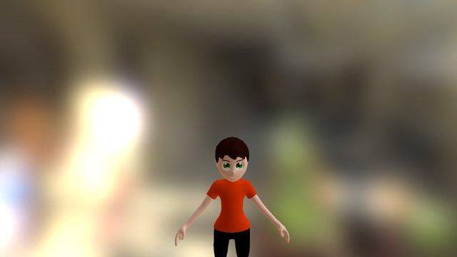 ZBrush modeling for 3D animation 160111 005 048 3D Model