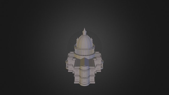 St Pauls Cathedral 3D Model