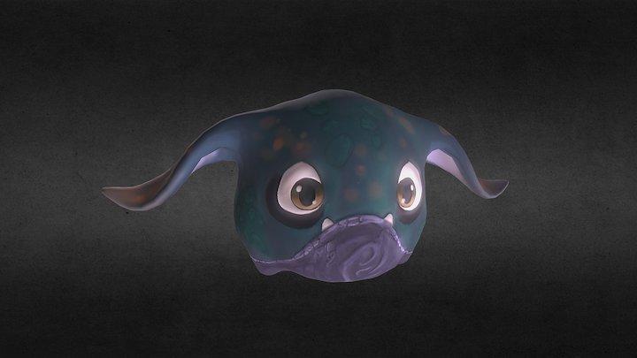 Laflaf Creature Design 3D Model