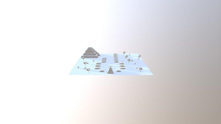 Primitive Scene 3D Model
