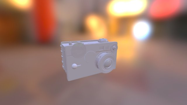 Vintage Camera - Argus C2 3D Model