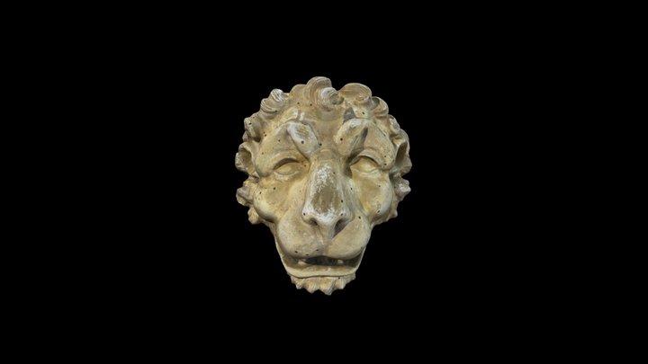 Testa di Leone / Lion's head 3D Model