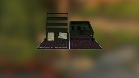 Shop Stands 3D Model