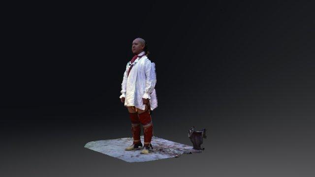 Kody Grant, Cherokee. 3D Model
