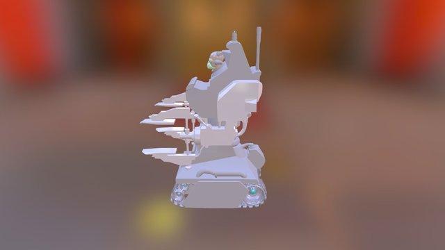 servitor 3D Model