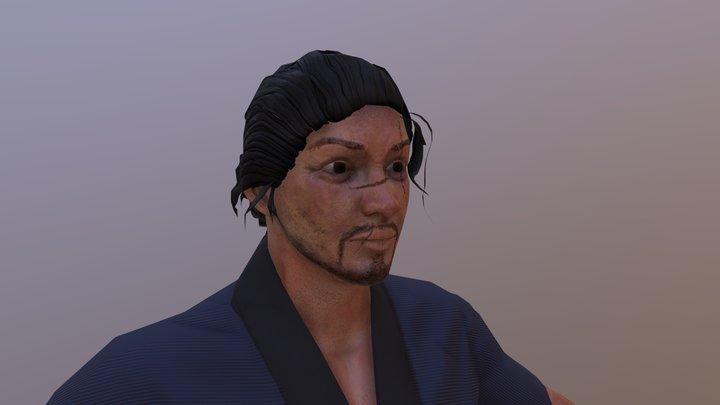 Ronin Character 3D Model