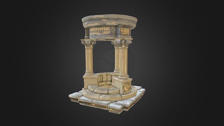 Fontaine 3D Model