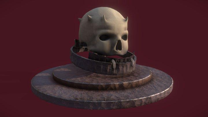 Mounted Skull 3D Model