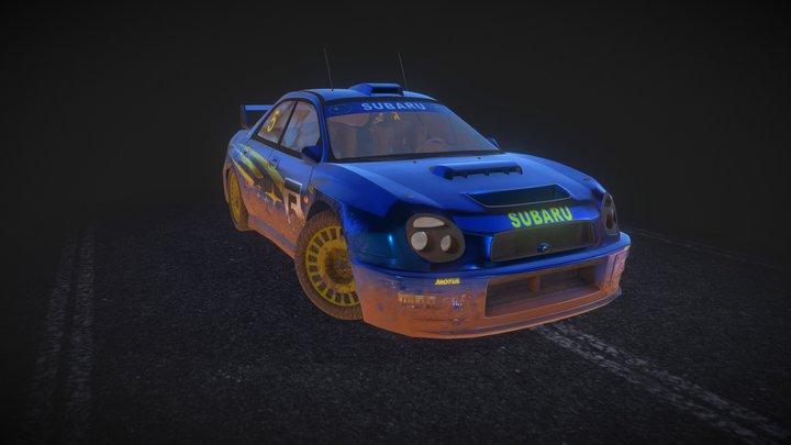 Subaru Impreza 2001 Rally 3D Model