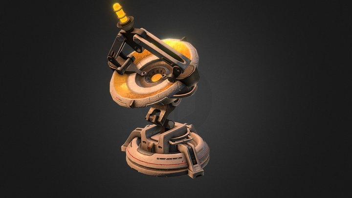 Radar Horizon 3D Model
