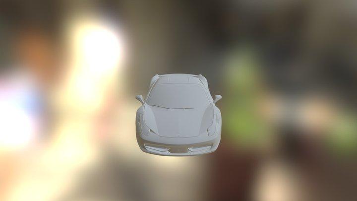 Ferrari Italia 458 3D Model