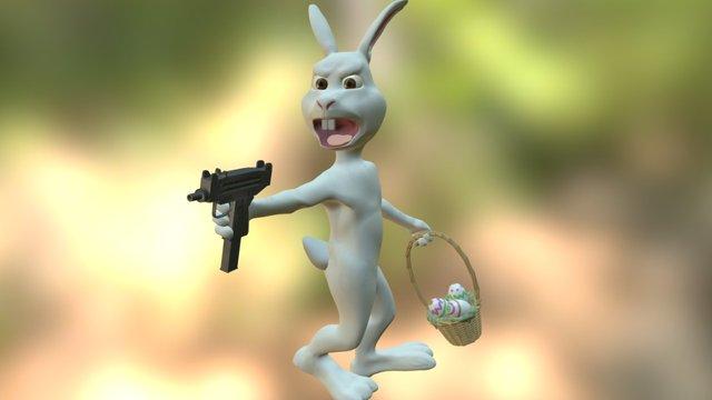 Easter Bunny Reloaded 3D Model