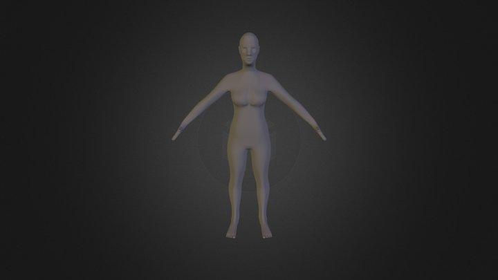 Character Emilie 3D Model