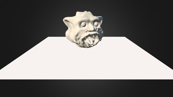 Demoniac1 3D Model