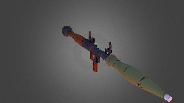 RPG-7 m1973 3D Model