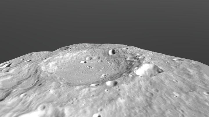 Google Moon 3D Model