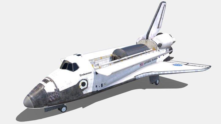 Endeavour 3D Model