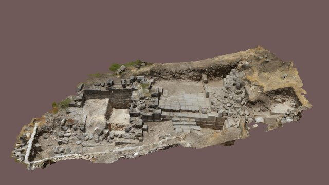 Hippos (Sussita) Excavations - A Portal for Pan 3D Model
