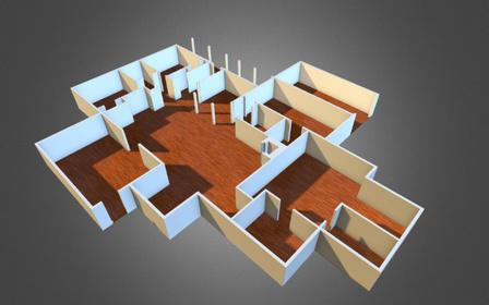 Blueprint2 3D Model