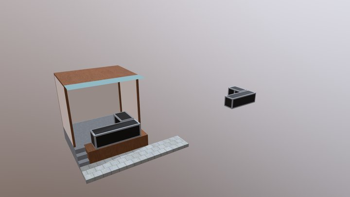 Waroeng Bing Kopi 3D Model