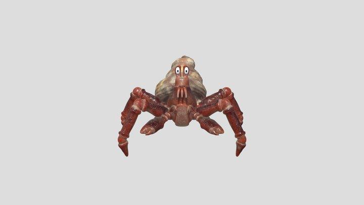 Final Crab 3D Model