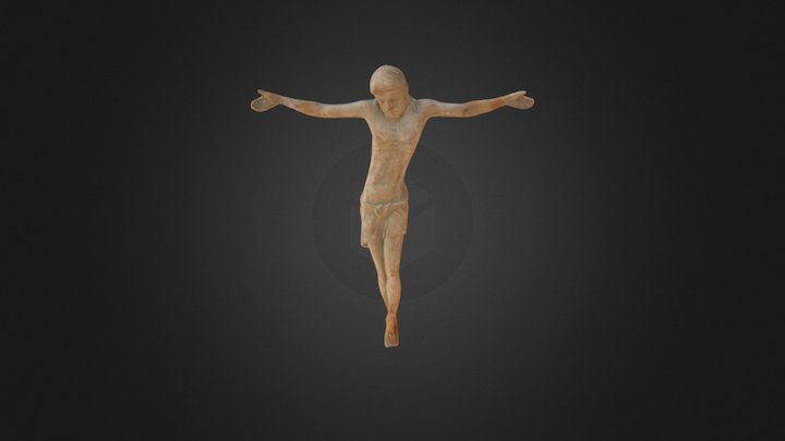Crucified Christ 3D Model