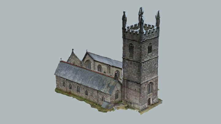 Mabe Church - Exterior 3D Model