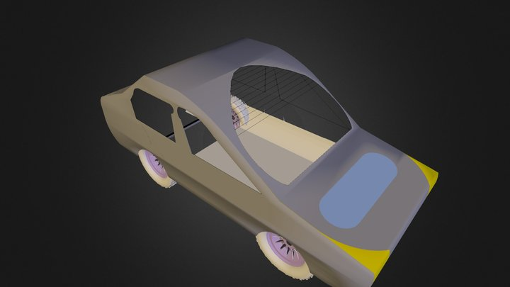 Coche A. Luque 3D Model