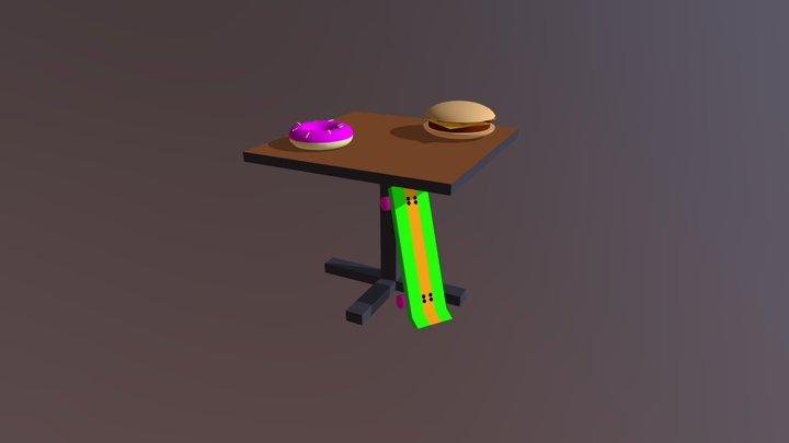Cartoon Props 3D Model