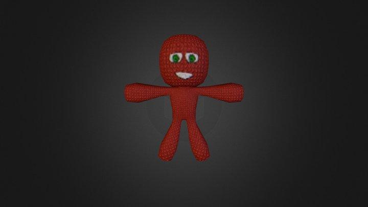 ragDoll esk character 3D Model