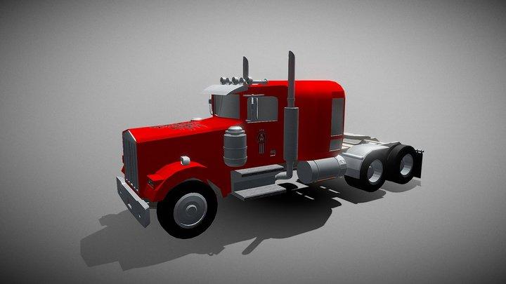 Truck W 900 3D Model