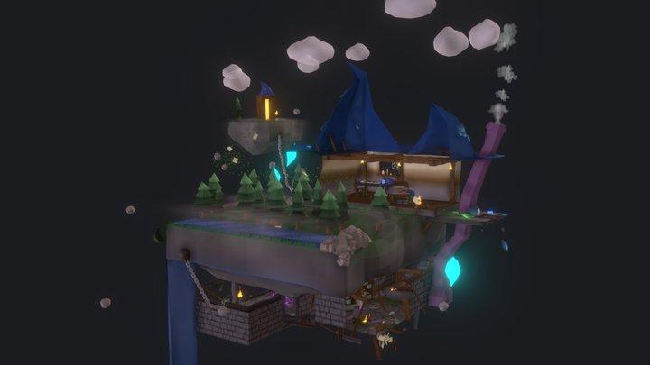 The Lost Alchemist 3D Model