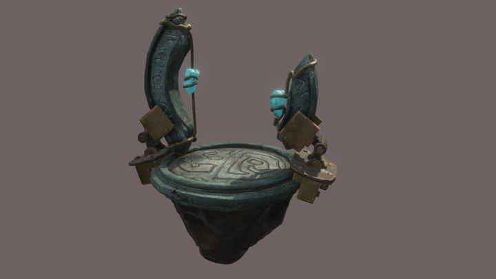 Floating Altar 3D Model