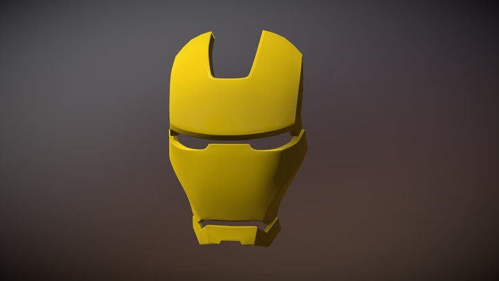 Iron Man - Mask 3D Model