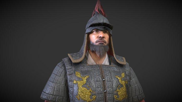 성웅 이순신 장군 Admiral Yi 3D Model