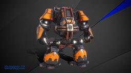 Drednought 3D Model